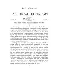 Journal of Political Economy : 1911 Mar.... Volume Vol.12 by Reny,philip