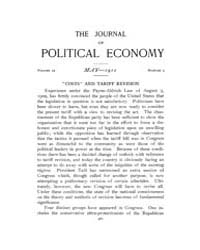 Journal of Political Economy : 1911 May ... Volume Vol.12 by Reny,philip