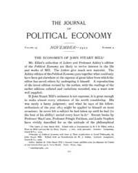 Journal of Political Economy : 1911 Nov.... Volume Vol.12 by Reny,philip