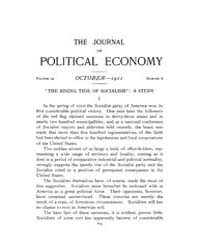 Journal of Political Economy : 1911 Oct.... Volume Vol.13 by Reny,philip