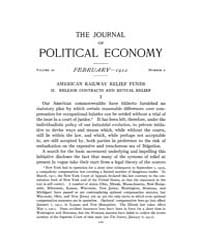 Journal of Political Economy : 1912 Feb.... Volume Vol.14 by Reny,philip