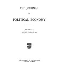 Journal of Political Economy : 1912 Jan.... Volume Vol.14 by Reny,philip