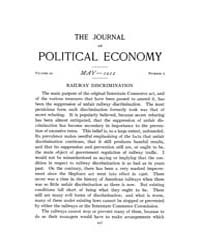 Journal of Political Economy : 1912 May.... Volume Vol.14 by Reny,philip