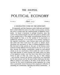 Journal of Political Economy : 1913 Apr.... Volume Vol.14 by Reny,philip