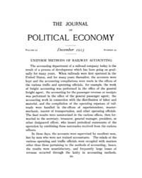 Journal of Political Economy : 1913 Dec.... Volume Vol.14 by Reny,philip