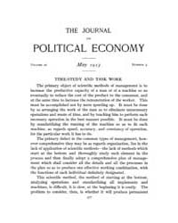 Journal of Political Economy : 1913 May.... Volume Vol.15 by Reny,philip