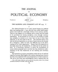 Journal of Political Economy : 1914 Apr.... Volume Vol.15 by Reny,philip