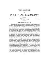Journal of Political Economy : 1914 Feb.... Volume Vol.15 by Reny,philip