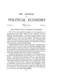 Journal of Political Economy : 1914 Jun.... Volume Vol.16 by Reny,philip