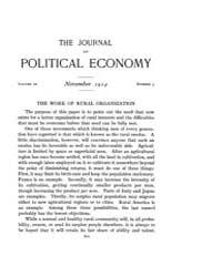 Journal of Political Economy : 1914 Nov.... Volume Vol.16 by Reny,philip