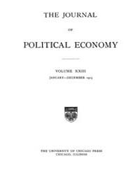 Journal of Political Economy : 1915 Jan.... Volume Vol.17 by Reny,philip