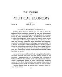 Journal of Political Economy : 1916 Apr.... Volume Vol.17 by Reny,philip