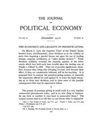 Journal of Political Economy : 1916 Dec.... Volume Vol.17 by Reny,philip