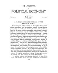 Journal of Political Economy : 1916 Jul.... Volume Vol.18 by Reny,philip