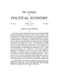 Journal of Political Economy : 1916 Jun.... Volume Vol.18 by Reny,philip