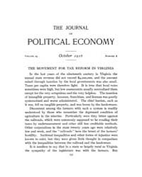 Journal of Political Economy : 1916 Oct.... Volume Vol.18 by Reny,philip