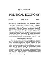 Journal of Political Economy : 1917 Apr.... Volume Vol.18 by Reny,philip