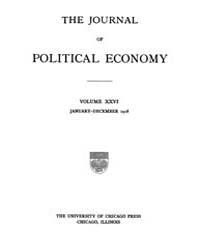Journal of Political Economy : 1918 Jan.... Volume Vol.20 by Reny,philip