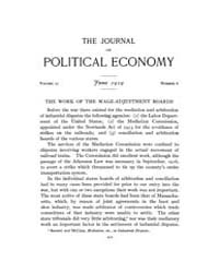 Journal of Political Economy : 1919 Jun.... Volume Vol.21 by Reny,philip
