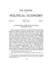 Journal of Political Economy : 1920 Jul.... Volume Vol.22 by Reny,philip