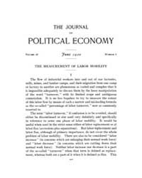 Journal of Political Economy : 1920 Jun.... Volume Vol.22 by Reny,philip