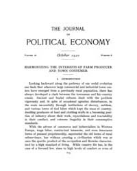Journal of Political Economy : 1920 Oct.... Volume Vol.22 by Reny,philip