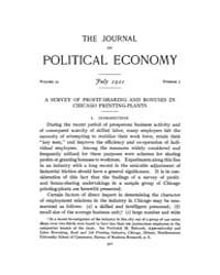 Journal of Political Economy : 1921 Jul.... Volume Vol.23 by Reny,philip