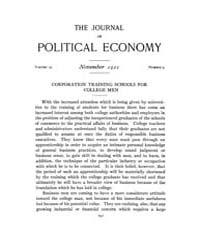 Journal of Political Economy : 1921 Nov.... Volume Vol.23 by Reny,philip