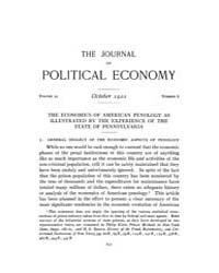 Journal of Political Economy : 1921 Oct.... Volume Vol.23 by Reny,philip