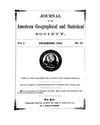 Journal of the American Geographical and... Volume Vol.24 by Reny,philip