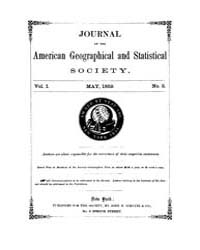 Journal of the American Geographical and... Volume Vol.25 by Reny,philip