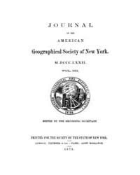 Journal of the American Geographical Soc... Volume Vol.25 by Reny,philip