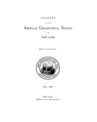 Journal of the American Geographical Soc... Volume Vol.26 by Reny,philip