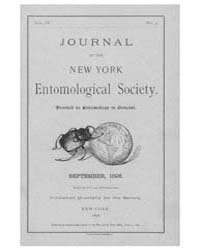 Journal of the New York Entomological So... Volume Vol.4 by