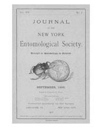 Journal of the New York Entomological So... Volume Vol.14 by