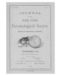 Journal of the New York Entomological So... Volume Vol.18 by