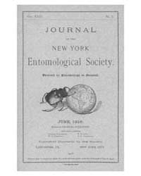 Journal of the New York Entomological So... Volume Vol.24 by