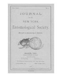 Journal of the New York Entomological So... Volume Vol.29 by