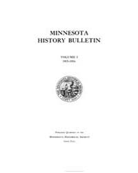 Minnesota History Bulletin : 1915 Feb. N... Volume Vol. 1 by
