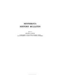 Minnesota History Bulletin : 1917 Feb. N... Volume Vol. 2 by