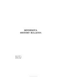 Minnesota History Bulletin : 1918 Aug. N... Volume Vol. 2 by