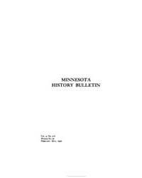 Minnesota History Bulletin : 1922 Feb. M... Volume Vol. 4 by