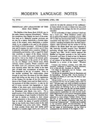 Modern Language Notes : 1903 Apr No. 4, ... Volume Vol. 18 by