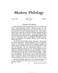 Modern Philology : 1915 Jun. No. 2, Vol.... Volume Vol. 13 by Strier, Richard