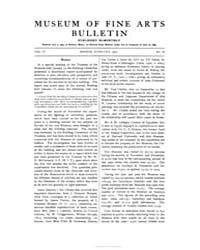 Museum of Fine Arts Bulletin : 1906 Feb.... Volume Vol. 4 by