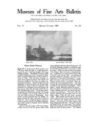 Museum of Fine Arts Bulletin : 1907 Oct.... Volume Vol. 5 by