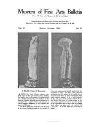 Museum of Fine Arts Bulletin : 1908 Oct.... Volume Vol. 6 by