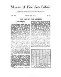 Museum of Fine Arts Bulletin : 1915 Jun.... Volume Vol. 13 by
