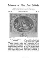 Museum of Fine Arts Bulletin : 1915 Oct.... Volume Vol. 13 by