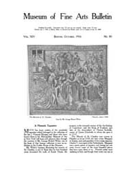 Museum of Fine Arts Bulletin : 1916 Oct.... Volume Vol. 14 by